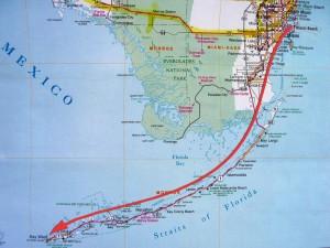 map_miami-beach-to-key-west